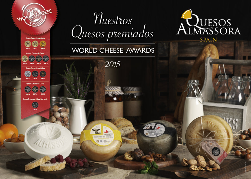 World Cheese Award 2015 - Quesos Almassora